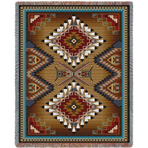 Brazos XL Blanket 90X60 Tapestry Throw