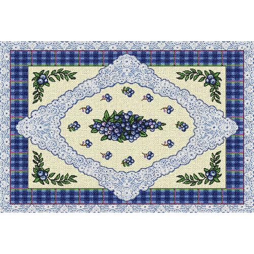 Blueberry Lace Placemat Placemat