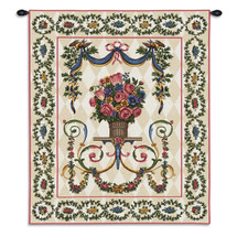 Floral Majesty Wall Tapestry Wall Tapestry
