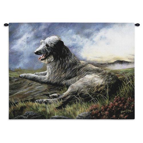 Scottish Deerhound Wall Tapestry Wall Tapestry
