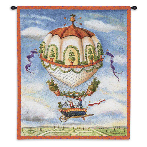 Gardeners Wall Tapestry Wall Tapestry