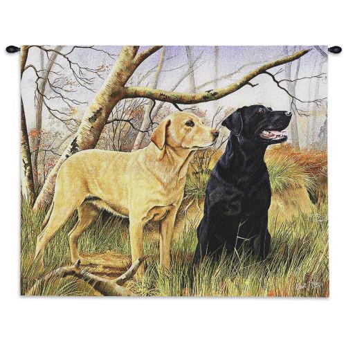 Labrador Retrievers Wall Tapestry Wall Tapestry