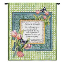 Nurse's Prayer Wall Tapestry Wall Tapestry