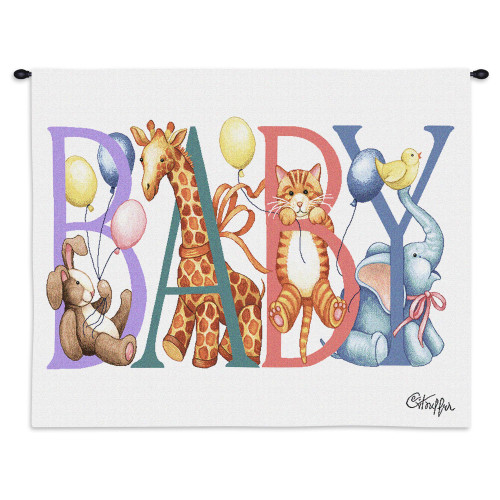 Baby Animals Wall Tapestry Wall Tapestry