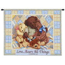 Love Bears Wall Tapestry Wall Tapestry