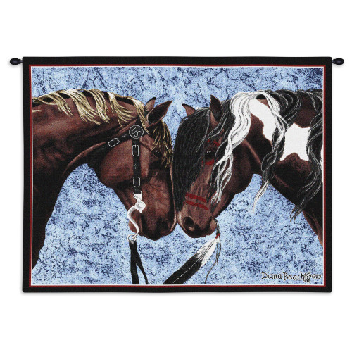 Warriors Truce Wall Tapestry Wall Tapestry
