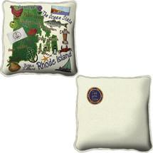 Rhode Island State Pillow Pillow