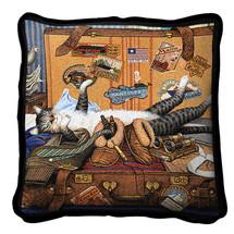 Mabel The Stowaway Pillow Pillow