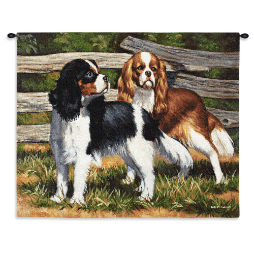 Fence Line Wall Tapestry Wall Tapestry