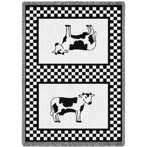 Bessie Cow Blanket Afghan