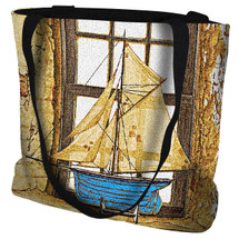 Lighthouse Window Tote Bag Tote Bag