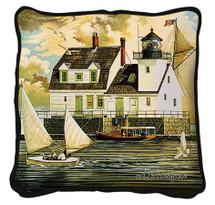 Rockland Breakwater Light Pillow Pillow