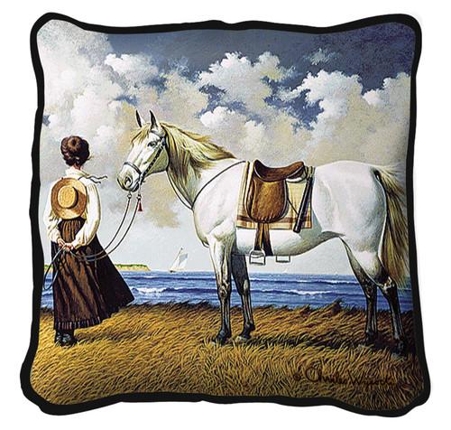Sea Captain's Wife Abiding Pillow Pillow