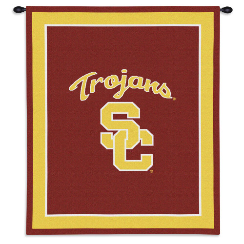 University Southern California Trojans Wall Tapestry Wall Tapestry