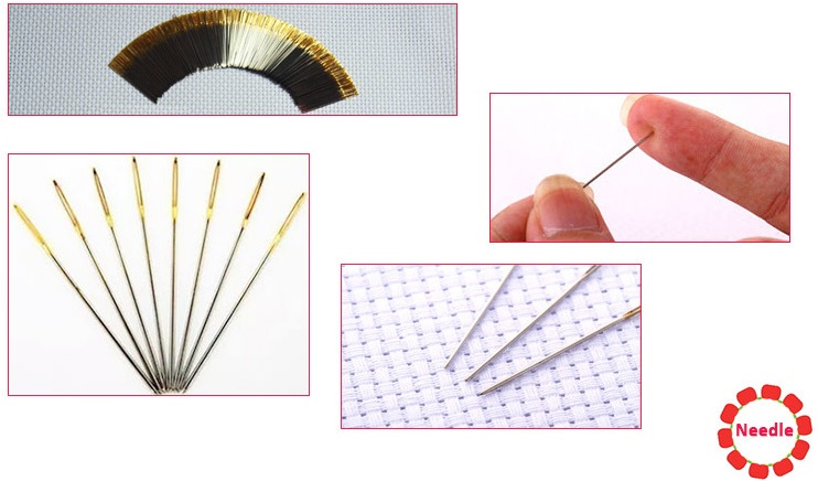Cross Stitch Kit - Needle