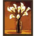 White Lilies Vase