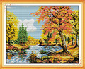 Cross Stitch Kits - Trees in Autumn