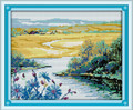 Arrival of Spring Cross Stitch Kit 44x37cm