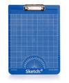 Blue Sketch-it Textured Clipboard