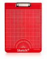 Sketch-it Clipboard Red