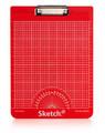 Sketch-it Clipboard Red