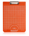 Sketch-it clipboard orange