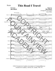 This Road I Travel - Score and Instrumental Parts