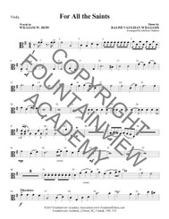 For All The Saints - Score and Instrumental Parts