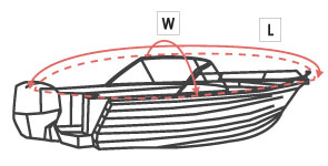 boat measurement guide height