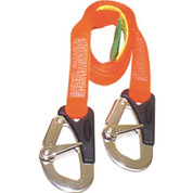 Burke Safety Line (2 Hook) For Harness