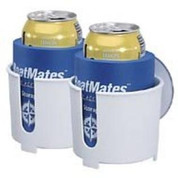 BoatMates Drink holder with Suction Cups - Twin Pack