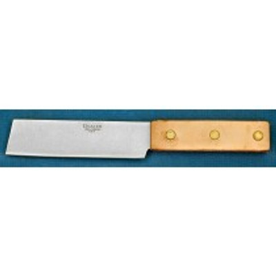 """Dexter Russell Processing 4"""" X 1 1/4"""" Leather Handle Mill Knife 60290 X71"""