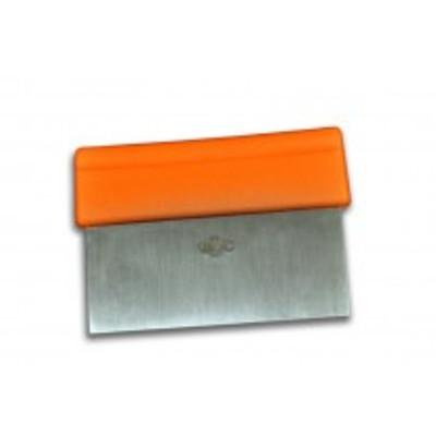 "Dexter Russell Barr Brothers 6""x3"" Scraper/Dough Cutter Orange Handle 42024 T3-6 ORG (42024)"