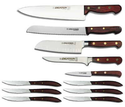 sets - kitchen sets - professional sets - dexter russell knives