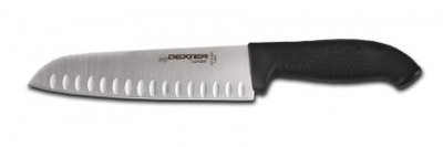 "SG144-9 Dexter Russell 9"" Duo-Edge Santoku with SofGrip Handle"