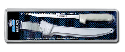 S133-8WS1 Dexter Sani-Safe 8 inch narrow fillet knife w/sheath