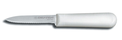 "S104SC Dexter Sani-Safe 3 1/4"" Scalloped paring knife (15373)"