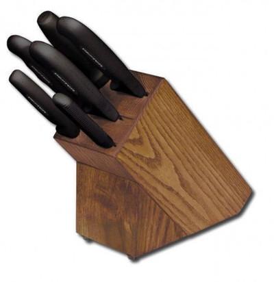 7 pc. SofGrip Block Set With Black Handles 21009 HSGB-3
