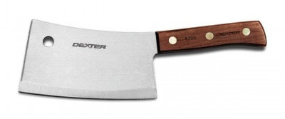 """Dexter Traditional 7"""" Stainless Heavy Duty Cleaver 08220 S5287 (08220)"""