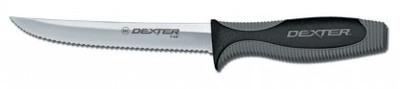 """Dexter Russell V-Lo 6"""" Scalloped Utility Knife 29373 V156SC"""