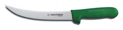 "Dexter Russell Sani-Safe 8"" Breaking Knife Green Handle 5523G S132N-8G (5523G)"
