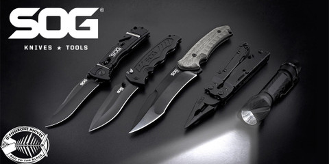 SOG Knives, Multi-tools, and More