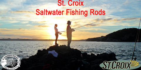 St. Croix Saltwater Fishing Rods