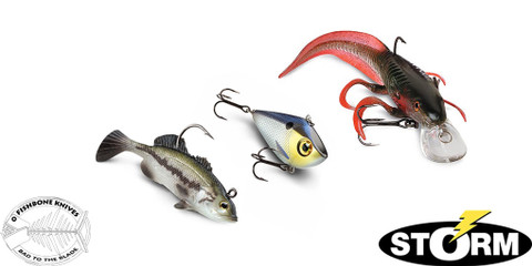 Now Carrying Storm Lures