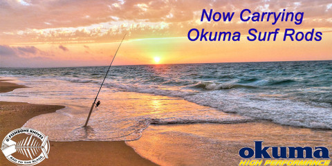 Okuma Surf Fishing Rods