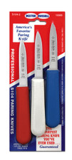 "S104 Dexter Sani-Safe 3 1/4""  3-pack of parers in Red, White & Blue"