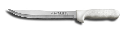 S142-9 Dexter Sani-Safe 9 inch scalloped utility slicer