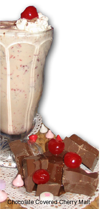 Chocolate Covered Cherry Malt