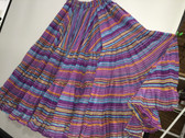 Rainbow Lurex Skirt Purple 32 Yards