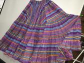 Rainbow Lurex Skirt Purple 32 Yards